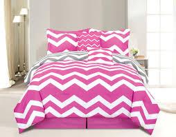 pink zebra queen bedding sets piece chevron pink bed in a bag set piece chevron pink