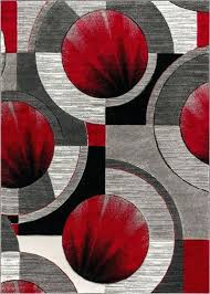 red and black kitchen rugs gray grey modern rug
