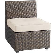 Pier One Chairs Living Room Ciudad Mocha Armless Chair Pier 1 Imports