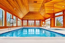 delightful designs ideas indoor pool. Design Ideas: Indoor Pool Offers Lovely Views Of The Scenic Landscape Outside Delightful Designs Ideas