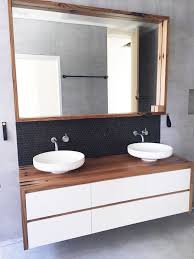 recycled timber vanities for that hero piece in your bathroom