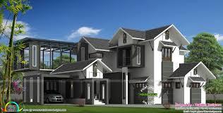2900 sq ft modern sloped roof house