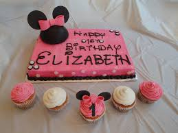 minnie mouse cake ideas sheet cake er cream icing with fondant accents 3
