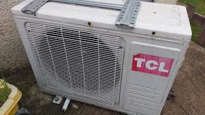 tcl remote control split air conditioner 12000btu heating and cooling works very well in