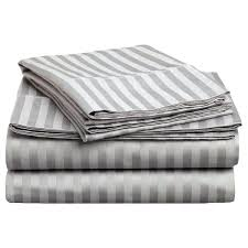 striped sheets king superior thread count twin and deep pocket cotton sheet set gray queen ticking black and white striped sheets
