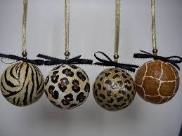 Leopard Decorative Balls Animal Print Leopard Zebra Decorative Ornaments by ArtBouquet My 32