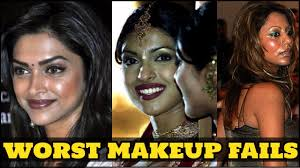 top bollywood actress and their worst make up fails you won t believe