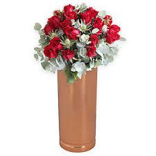 Small Picture Handmade India Ethnic Home Decor Copper Flower Vase Decorative eBay