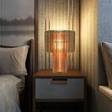 Classic Parametric Table Lamp Stylish Slice Design Desk Lamp Living