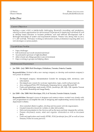 8 Web Developer Resume Sample Job Apply Form