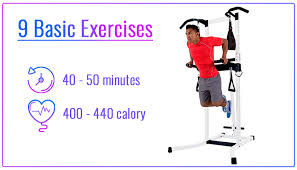Best Power Tower Workout Routine 9 Exercises 50 Minutes