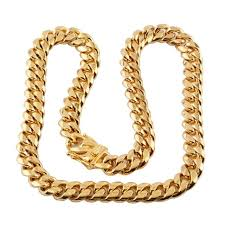 14mm trendy buckle miami cuban chains men s hip hop jewelry whole gold thick snless steel big chunky necklace gift 7 40