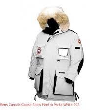 Canada Goose Parka Montebello Mens Canada Goose Snow Mantra Parka White