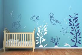 Small Picture Under the Sea Decals Contemporary Wall Decals by Cherry Walls