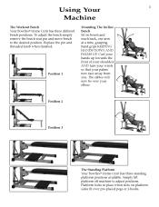 Bowflex Motivator Exercise Chart Bowflex Motivator Support And Manuals