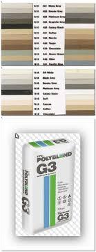 Cta Grout Colour Chart Tile Grout Online