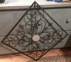 vintage black wrought iron decorative