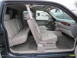 Light Titanium Interior 2009 Chevrolet Silverado 1500 LTZ Crew Cab ...
