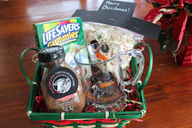 snowman themed gift baskets