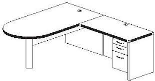types of office desks. L Shape Desk Plan Types Of Office Desks