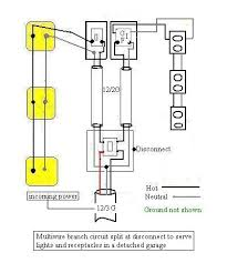 basic wiring to detached garage the garage journal board so the basic wiring diagram would look like this