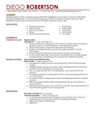 Night Auditor Resume Examples Free To Try Today