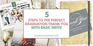 Graduation Thank You Note How To Write The Perfect Graduation Thank You With Basic Invite