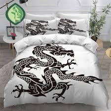 helengili 3d bedding set chinese dragon