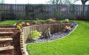 Small Picture Landscape Landscaping Ideas For Slopes In Backyard The Garden