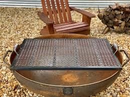 42 heavy duty handcrafted fire pit