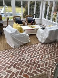 reclaimed thin brick veneer tiles