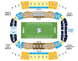 Oakland Coliseum Interactive Seating Chart 3d Seating Map Winnipeg Blue Bombers