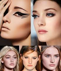 twin tails eye makeup trends fall winter