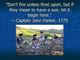 Revolutionary War Quotes