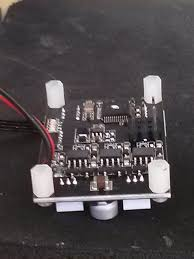 tarot 650 iron man fpv drone n00b gimbal control board mounting spacers installed