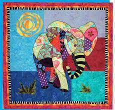 Ellie Elephant Quilt Pattern by B J Designs and Patterns at ... & Ellie Elephant Quilt Pattern by B J Designs and Patterns at Creative Quilt  Kits Adamdwight.com