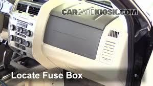 interior fuse box location 2005 2012 ford escape 2010 ford escape interior fuse box location 2005 2012 ford escape