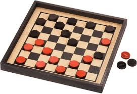 Classic Wooden Board Games Made in USA Checkers 97
