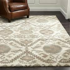 details about crate barrel orissa rug handmade wool area rugs carpet