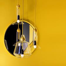 yellow pendant lighting. Large Knot Pendant Lamp Yellow Lighting
