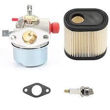 Amazon.com : 640350 Carburetor w/Air Filter Spark Plug for Tecumseh ...