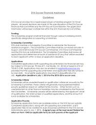 Fafsa Income Eligibility Chart 2015 Sya Soccer Financial Aid Guidelines