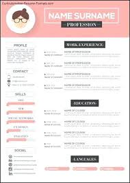 Stylish Resume Templates Free Free Modern Template Download Resume