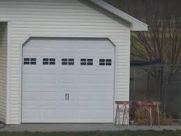 Faux Garage Door Windows Diy Faux Garage Window Carriage Kit Dime And A Prayer