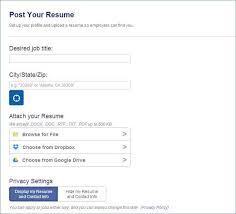 Resume Posting Best 28 New Post Resume On Indeed Photographs Telferscotresources