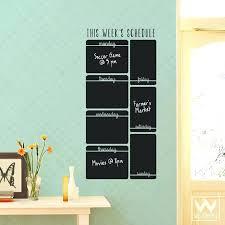 chalkboard wall calendar chalkboard wall calendar decal chalkboard wall calendar chalkboard calendar wall sticker chalkboard organizer