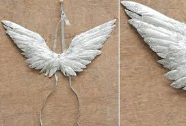 feather angel wings decoration whole mini