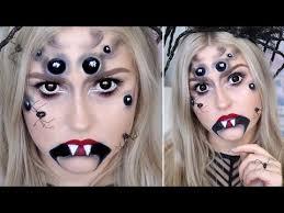 creepy spider makeup arachnid queen tutorial