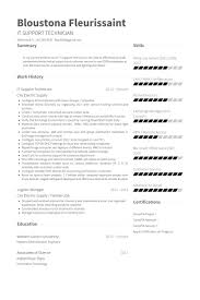 It Support Resume 4 Beautiful Ideas Desk Technical