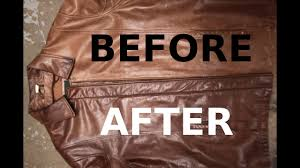how to re a brown leather jacket